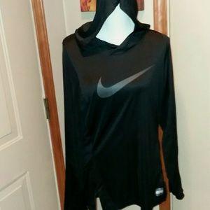 Nike hooded athletic top